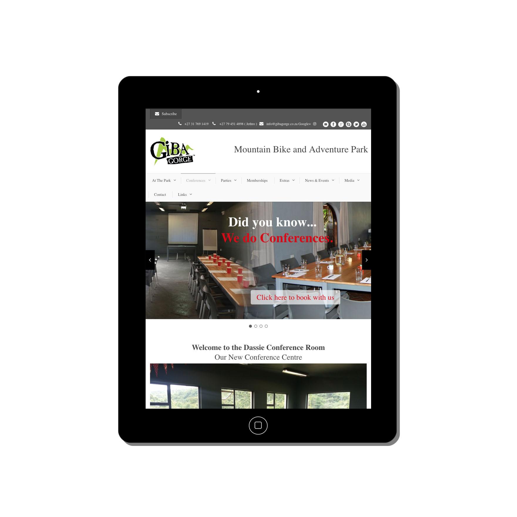 giba gorge web-design-portfolio-webdoor-responsive-web-design-agency-hillcrest-kwazulu-natal-tablet