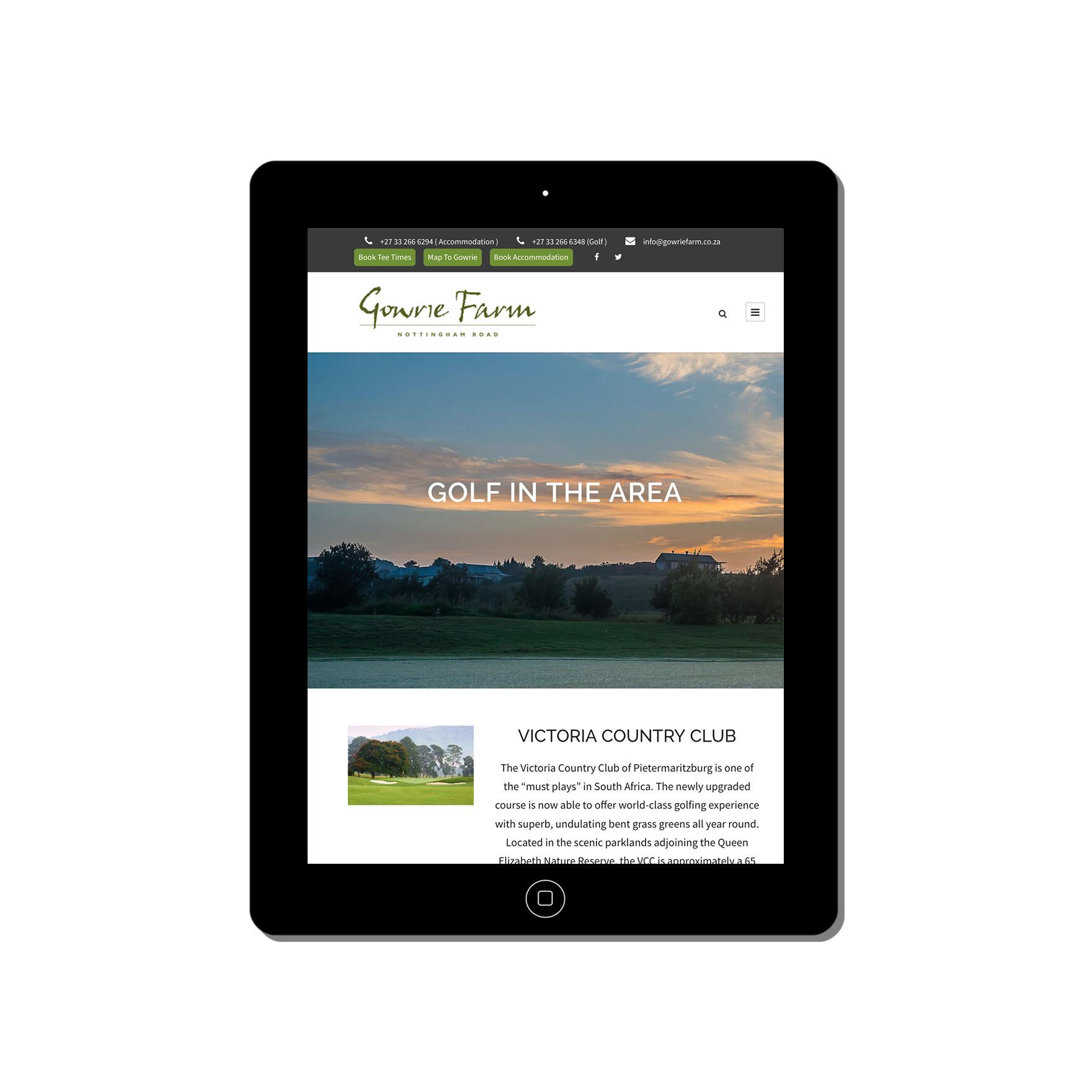 gowrie farm web-design-portfolio-webdoor-responsive-web-design-agency-hillcrest-kwazulu-natal-tablet