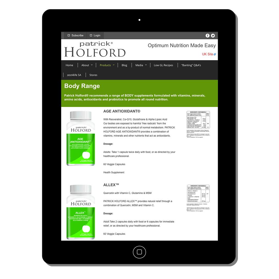 holford direct web-design-portfolio-webdoor-responsive-web-design-agency-hillcrest-kwazulu-natal-tablet