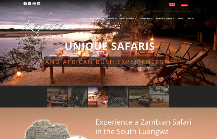 kafunta safaris web-design-portfolio-webdoor-responsive-web-design-agency-hillcrest-kwazulu-natal