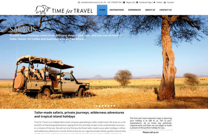 time for travel-web-design-portfolio-webdoor-responsive-web-design-agency-hillcrest-kwazulu-natal