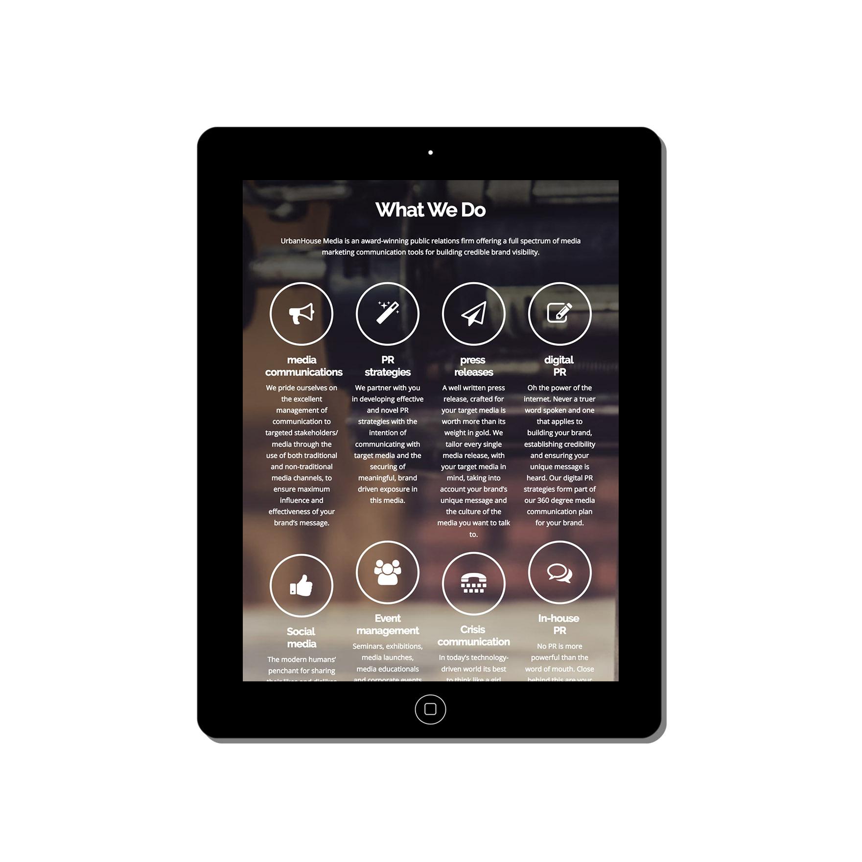 urban house media web-design-portfolio-webdoor-responsive-web-design-agency-hillcrest-kwazulu-natal-tablet