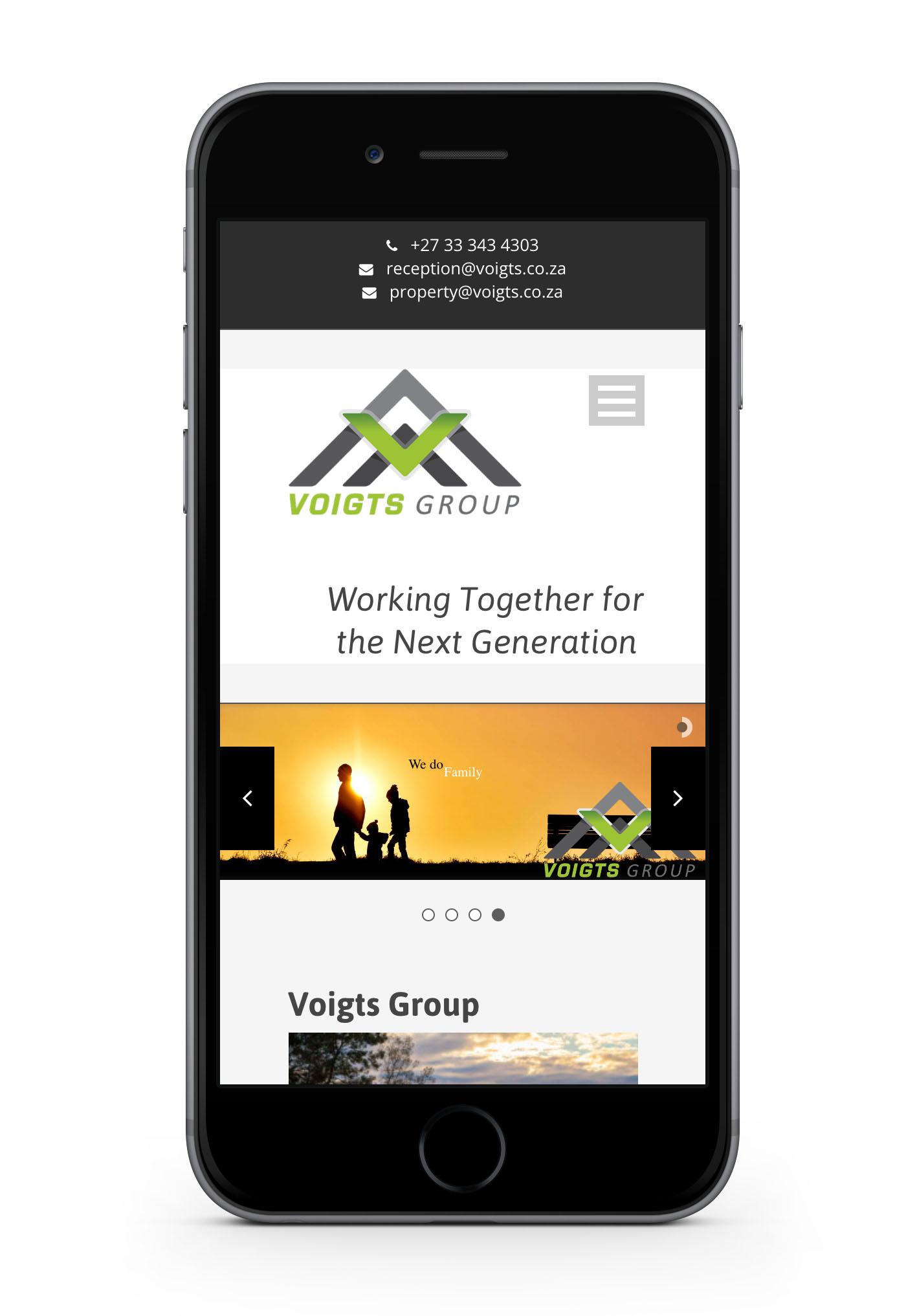 voigts group web-design-portfolio-webdoor-responsive-web-design-agency-hillcrest-kwazulu-natal-phone