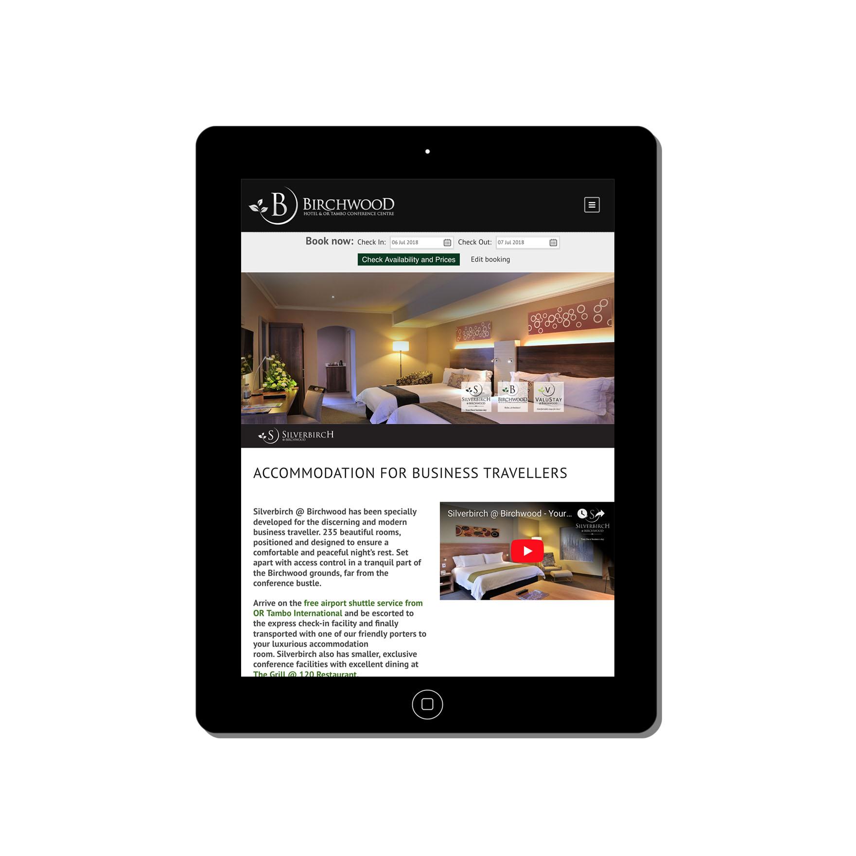 birchwood hotel or-tambo-conference-centre-web-design-portfolio-webdoor-responsive-web-design-agency-hillcrest-kwazulu-natal-tablet