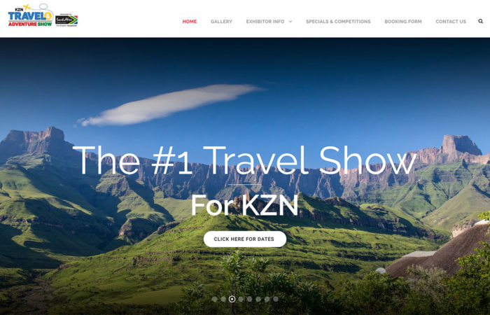 kzn travel and adventure show web-design-portfolio-webdoor-responsive-web-design-agency-hillcrest-kwazulu-natal