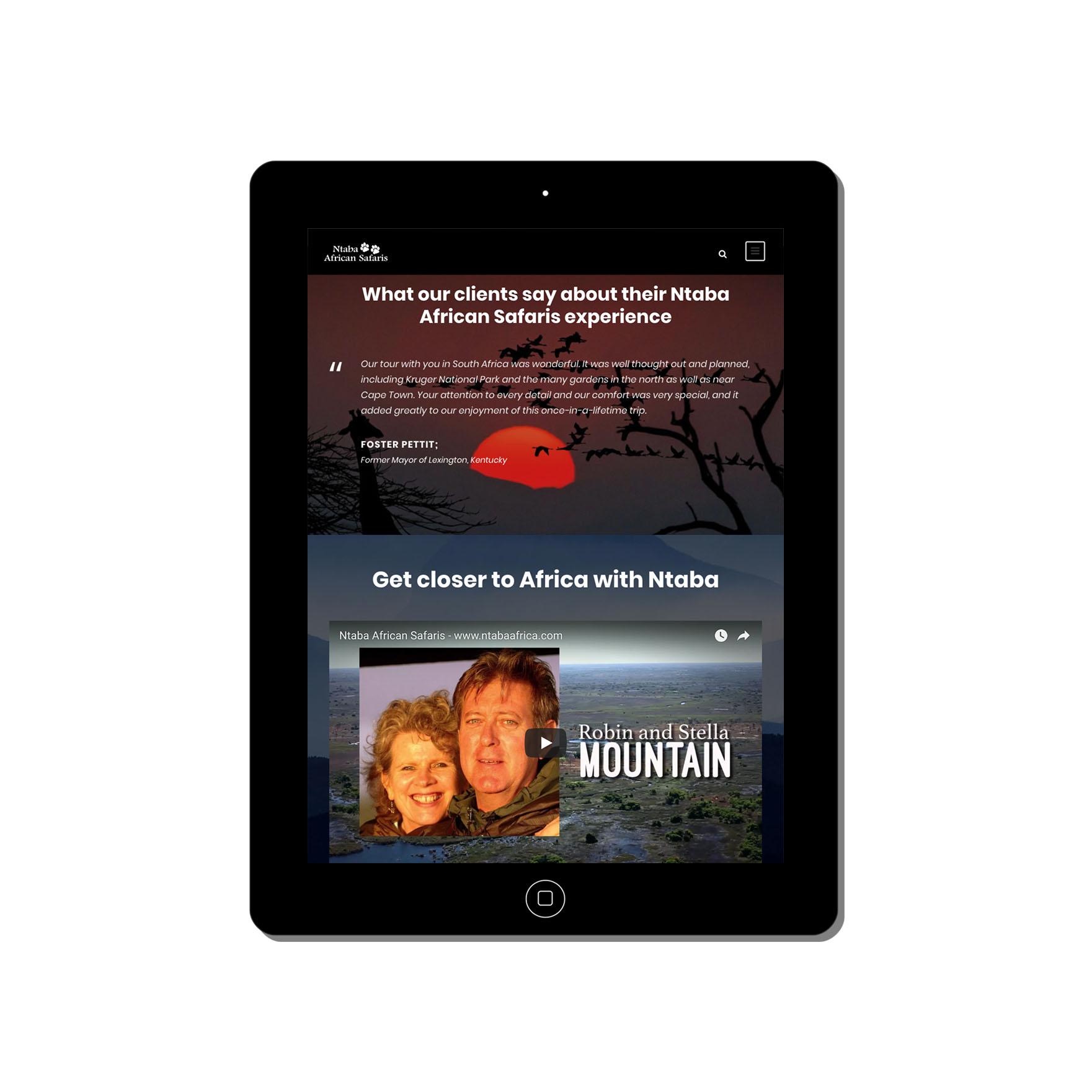 ntaba africa web-design-portfolio-webdoor-responsive-web-design-agency-hillcrest-kwazulu-natal-tablet
