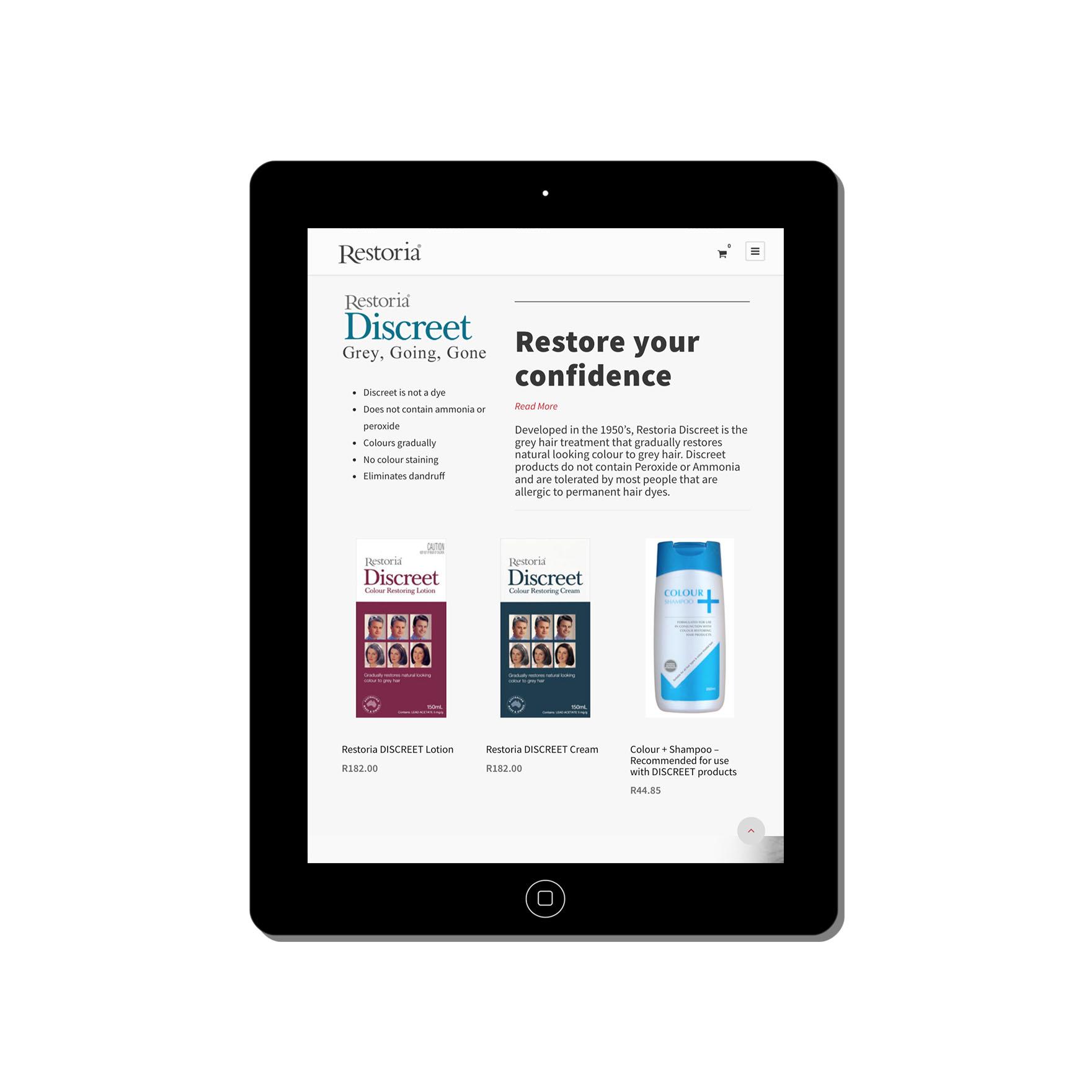 restoria-web-design-portfolio-webdoor-responsive-web-design-agency-hillcrest-kwazulu-natal-tablet