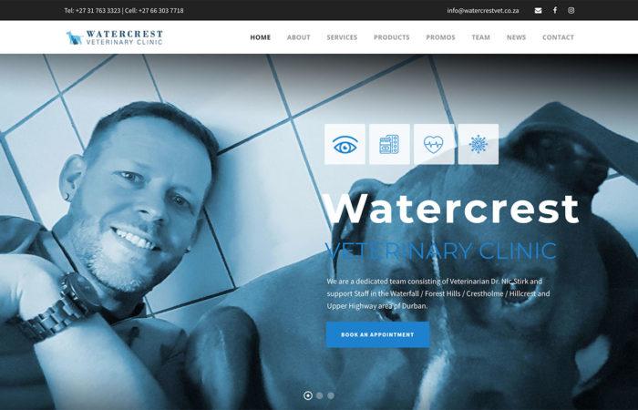 watercrest vet web-design-portfolio-webdoor-responsive-web-design-agency-hillcrest-kwazulu-natal