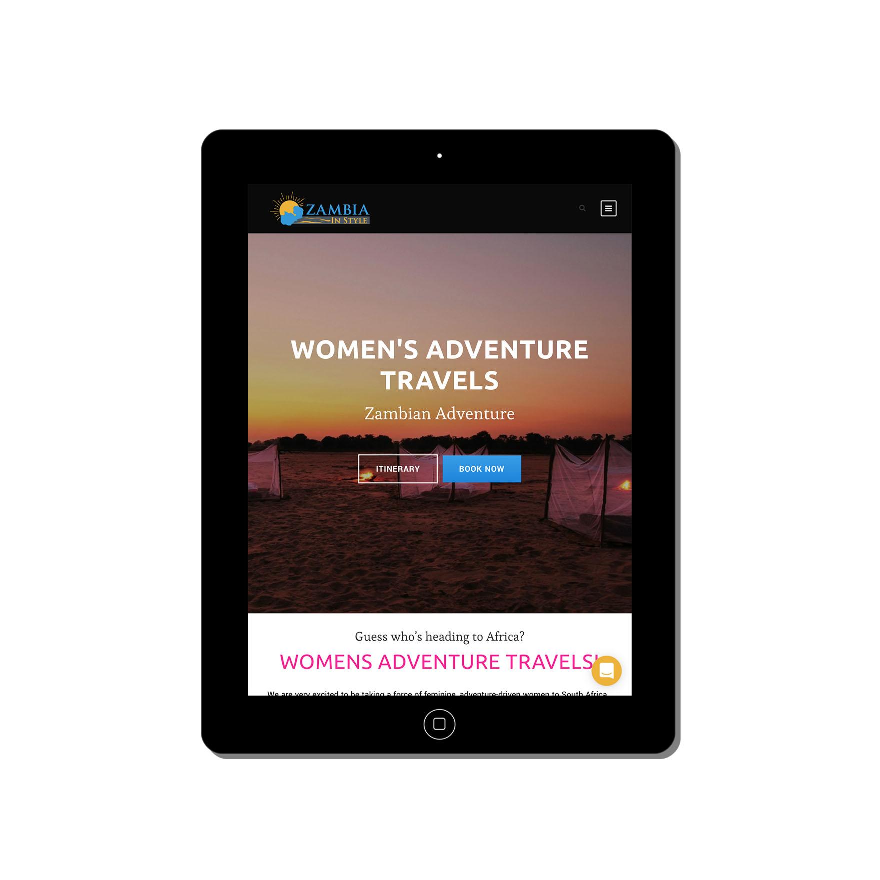 zambia in style web-design-portfolio-webdoor-responsive-web-design-agency-hillcrest-kwazulu-natal-tablet